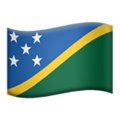 Flag: Solomon Islands on Apple iOS 14.2
