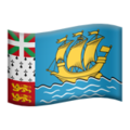 Flag: St. Pierre & Miquelon on Apple iOS 14.2