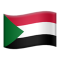 Flag: Sudan on Apple iOS 14.2