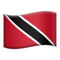 Flag: Trinidad & Tobago on Apple iOS 14.2