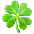 Four Leaf Clover on Apple iOS 14.2