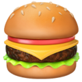 Hamburger on Apple iOS 14.2