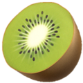 Kiwi Fruit on Apple iOS 14.2
