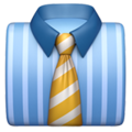 Necktie on Apple iOS 14.2