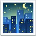 Night with Stars on Apple iOS 14.2