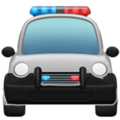 Oncoming Police Car on Apple iOS 14.2