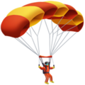 Parachute on Apple iOS 14.2