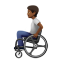 Person in Manual Wheelchair: Medium-Dark Skin Tone on Apple iOS 14.2