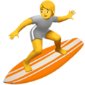 Person Surfing on Apple iOS 14.2