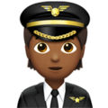 Pilot: Medium-Dark Skin Tone on Apple iOS 14.2