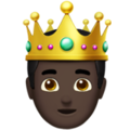 Prince: Dark Skin Tone on Apple iOS 14.2