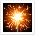 Sparkler on Apple iOS 14.2