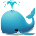 Spouting Whale on Apple iOS 14.2