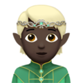 Elf: Dark Skin Tone on Apple iOS 14.5