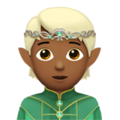 Elf: Medium-Dark Skin Tone on Apple iOS 14.5
