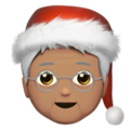 Mx Claus: Medium Skin Tone on Apple iOS 14.5