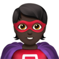 Superhero: Dark Skin Tone on Apple iOS 14.5