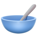 Bowl with Spoon on Apple iOS 14.6