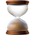 Hourglass Done on Apple iOS 14.6