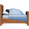 Person in Bed on Apple iOS 14.6