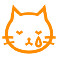 Crying Cat Face on Docomo 2013