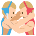 Wrestlers, Type-3 on JoyPixels 2.2.5