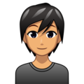 Person: Medium Skin Tone on emojidex 1.0.34
