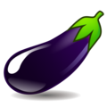 Eggplant on emojidex 1.0.34