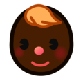 Baby: Dark Skin Tone on emojidex 1.0.34