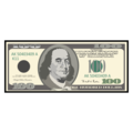 Dollar Banknote on emojidex 1.0.34