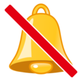 Bell With Slash on emojidex 1.0.34
