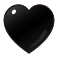 Black Heart on emojidex 1.0.34
