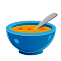 Bowl with Spoon on emojidex 1.0.34
