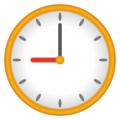 Nine O'Clock on emojidex 1.0.34