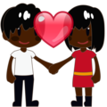 Couple With Heart, Type-6 on emojidex 1.0.34