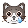 Crying Cat Face on emojidex 1.0.34