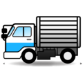 Delivery Truck on emojidex 1.0.34