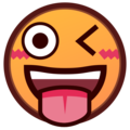 Winking Face With Tongue on emojidex 1.0.34