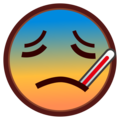 Face With Thermometer on emojidex 1.0.34