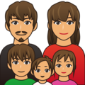 Family, Type-4 on emojidex 1.0.34