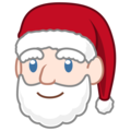 Santa Claus: Light Skin Tone on emojidex 1.0.34