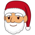 Santa Claus: Medium Skin Tone on emojidex 1.0.34