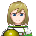 Woman Astronaut: Light Skin Tone on emojidex 1.0.34