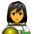 Woman Astronaut on emojidex 1.0.34