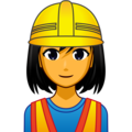 Woman Construction Worker on emojidex 1.0.34