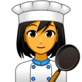 Woman Cook on emojidex 1.0.34