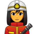 Woman Firefighter on emojidex 1.0.34