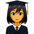 Woman Student on emojidex 1.0.34