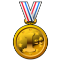 1st Place Medal on emojidex 1.0.34