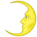 First Quarter Moon Face on emojidex 1.0.34